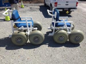beach wheel chairs
