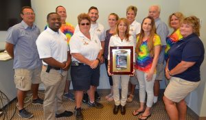 Safety Committee with Lighthouse Award