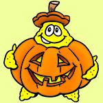 Halloween pumpkin Sandy