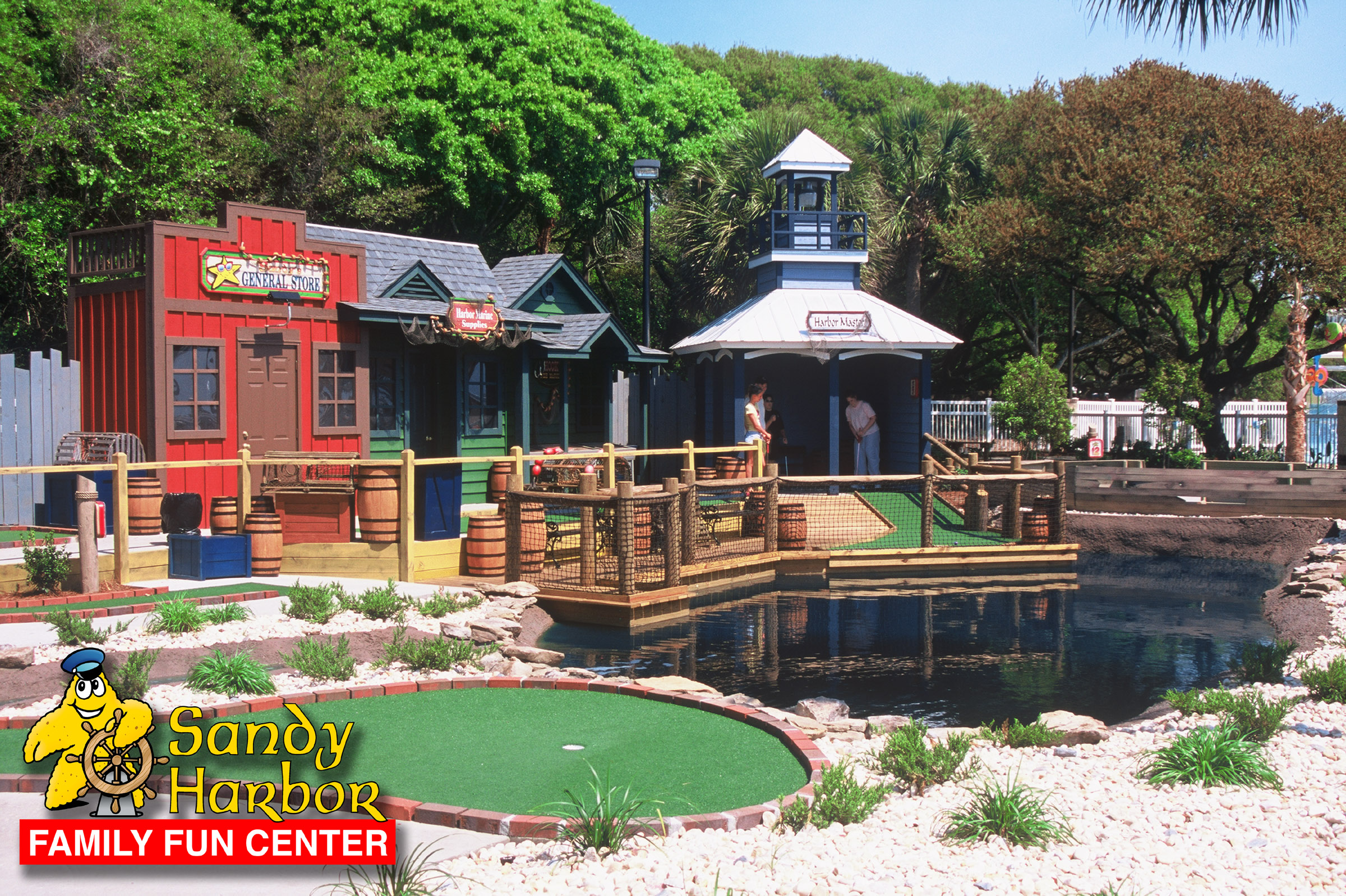 Sandy Harbor Family Fun Center At Ocean Lakes In Myrtle Beach