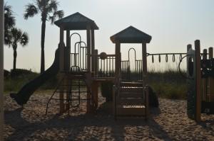 Playground on ocean_5264