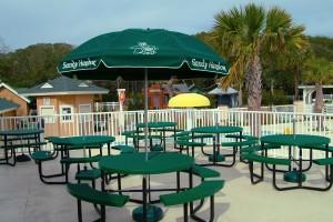 Sandy Harbor Cafe patio
