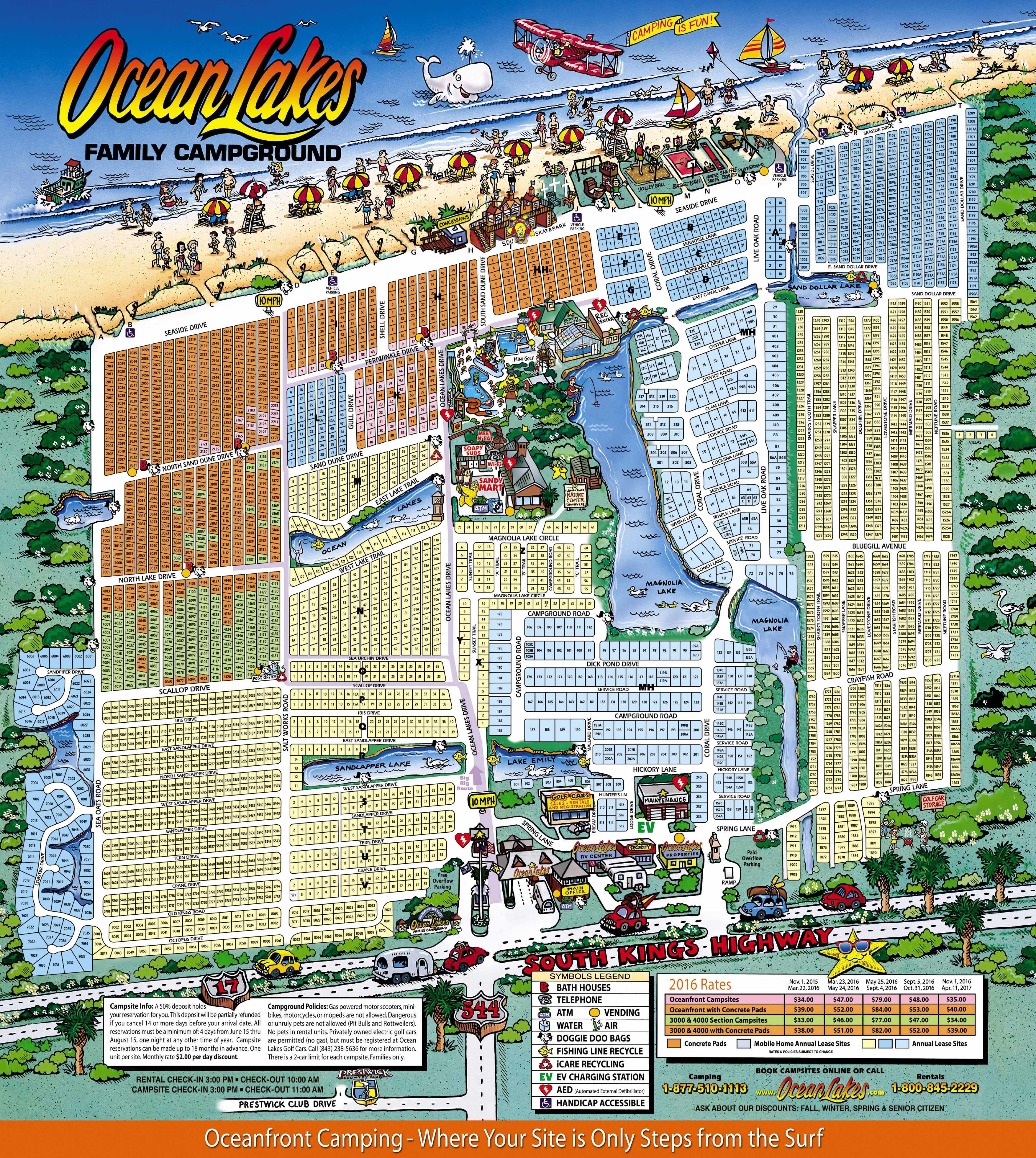 Ocean Lakes Properties Rentals Myrtle Beach